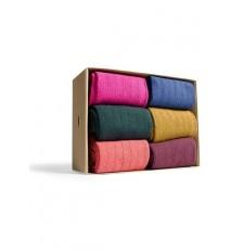 Caja de 6 calcetines de caña corta de las Tallas 36 - 39