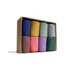Caja de 8 calcetines de caña corta de las Tallas 36 - 39