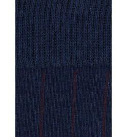 azul marino melange - Detalle