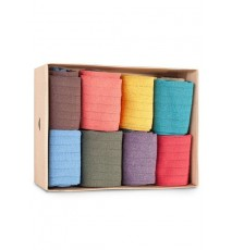 Caja de Cartón de 8 calcetines de las Tallas 40 - 44