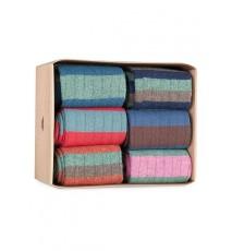Caja de Cartón de 6 calcetines de caña corta de las Tallas 40 - 44