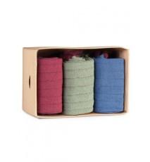 Caja de Cartón de 3 calcetines de caña corta de las Tallas 40 - 44
