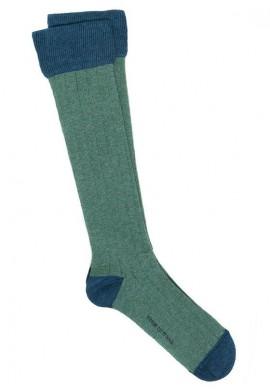 Verde oliva - Azul melange