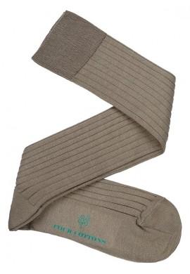 Calcetines de Hilo de Escocia en Camel