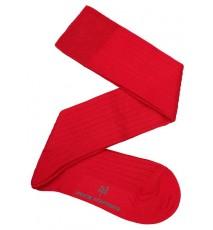 Calcetín Hilo de Escocia rojo. Talla 37-39