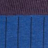 Azul indigo-viola melange
