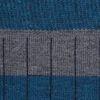 Rayas azul petroleo - gris